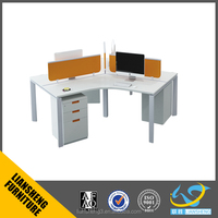 Modern style Best Price workstation for 3 person