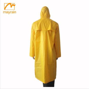 Brand spring / summer windbreak long rain jacket for man
