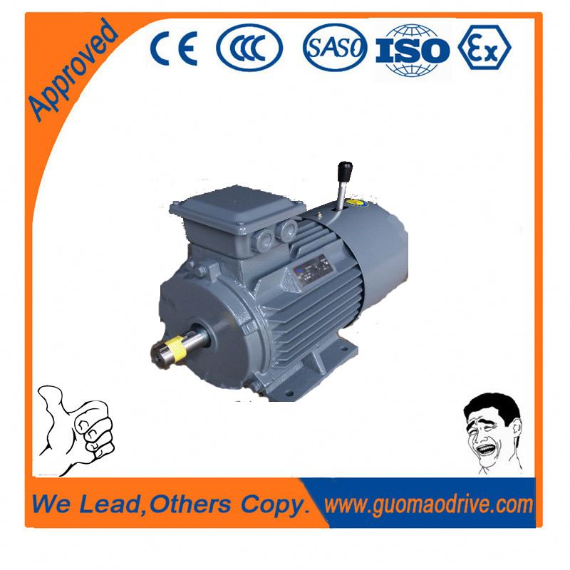 Electromagnetic braking three phase induction motor ac B14