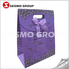 promotion hand paper bag with wheels laminated paper carry bags
