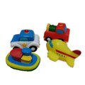 ICTI Certificated Custom Made soft pvc vehicle toy for kids