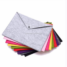 A4 felt document bag file folder