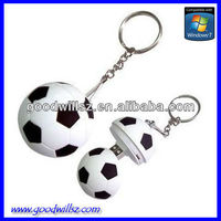 Promotional Gift Football USB Flash Disk 2.0
