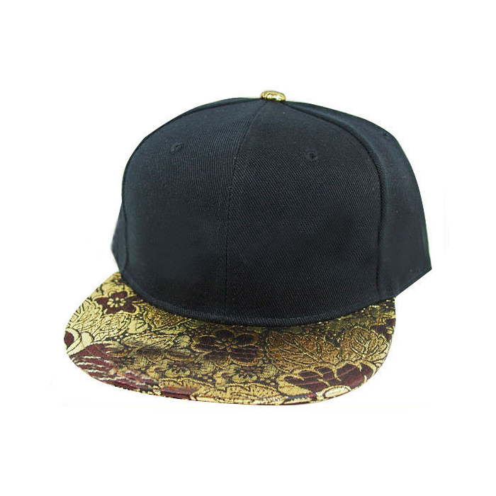 Wholesale Black falt brim blank snapback caps used baseballs for sale snapback snakeskin