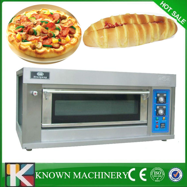 Hot sale small home use 1 trays electric/gas pizza oven for sale