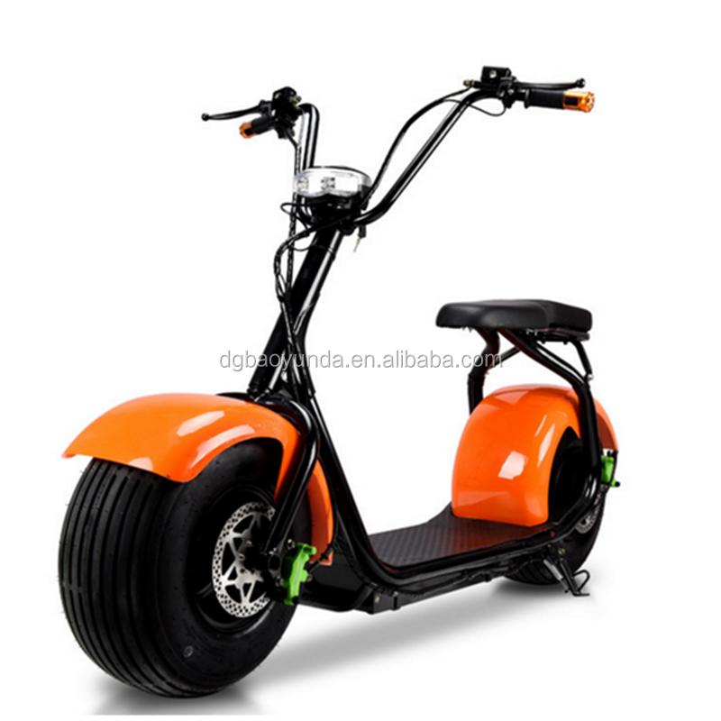 2017 nouveau deux grande roue pneu scooter 60 v 1000 w puissant v lo lectrique citycoco. Black Bedroom Furniture Sets. Home Design Ideas