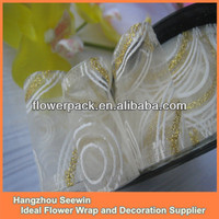 White Organza Ribbon Decoration