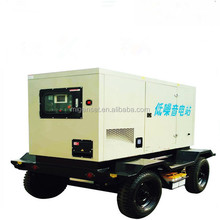 400V Rated Voltage Trailer Type Genset