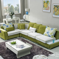 Modern Fabric Sectional Sofa Furniture Set