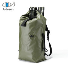Outdoor Camping Waterproof PVC 30L 60L 80L dry bag of Travel Hiking Backpack bag