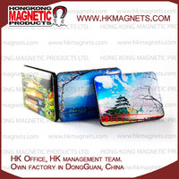Personalized Glass Material Custom Epoxy Fridge Magnets For Home Decoration