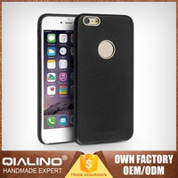 QIALINO Extreme Thin Best Quality South Korea Leather Case For Iphone 6 Hand-Made