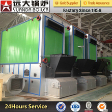 Raw materials biomass wood fired thermal oil boiler YYW in Henan