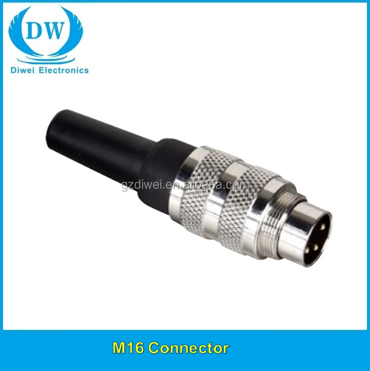 Binder M16 connectors 581 series male plug 6pin 99 2021 <strong>00</strong> 06/99 2021 09 06