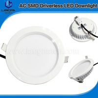 8 inch led retrofit recessed downlight new technology AC driverless downlight dimmable