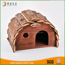 Top sale pet cages carriers arches shape insects bird house wood