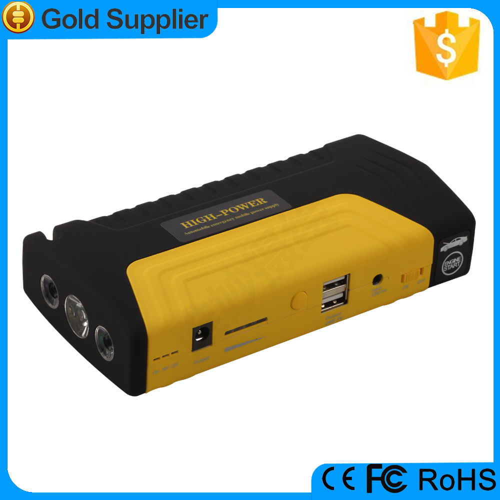 Emergency mini battery booster power bank 12V Car Jump Start 16800mah