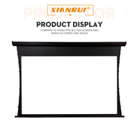 120 inch 150 inches 3D 4k home theatre electric tab tension projector screen