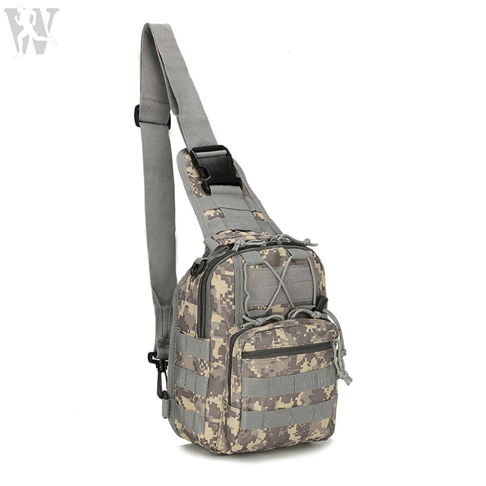 Top Quality Low Price Outdoor Tactical Sling Tool Bag Pack For Camping Hiking Trekking
