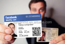Customized Printing Facebook ID Card/Student/Employee ID Cards