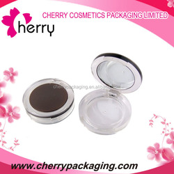 Round lovely attention classic cosmetic eyeshadow palette packaging