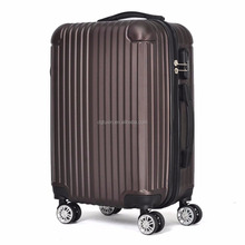high quality abs pc trolley luggage set 20'' 24'' 28''luggage bag travel luggage