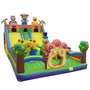 Adults fun park!! Kids/teenagers amusement park inflatable, fun amusement park for sale