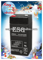 Solar Energy Storage rechargeable 4V 4.5Ah UPS battery rechargeable battery 4V
