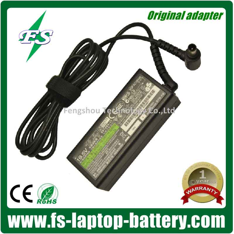 19.5V 2A laptop Adapter for Sony Vaio VPCM1 Series VGP-AC19V58 VGP-AC19V39 Power Charger