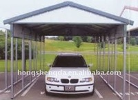 Low cost steel carport/canopy