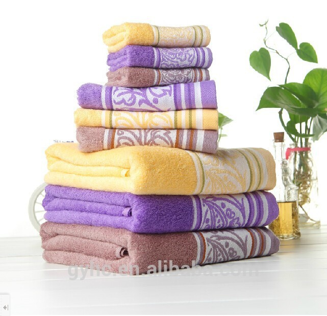 2017 Hot China Supplier professional comfortable antibacterial fiber bamboo towel