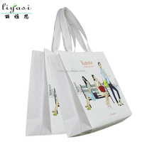 2016 Supermarket Promotional Shopping Bag,Heavy Duty Recycle Foldable PP Laminated Non Woven Tote Shopping Bag