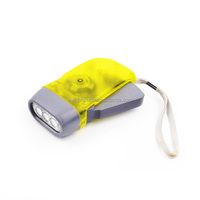 Hand Crank/Solar Dynamo Power/USB Radio /LED Flashlight