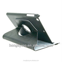 Rotatable leather case for iPad Air stand function flip case OEM available