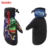 Heated ski gloves winter bicycle mountain bike gloves ski mittens full finger cycling gloves