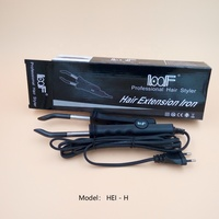 Loof hair extension iron connector constant temperature