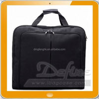 Travel Business Garment poly Bag for suit with Pockets