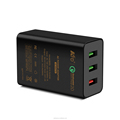 42W Wall Charger 3-Port USB Travel Charger, Smart Charge for phone tablet