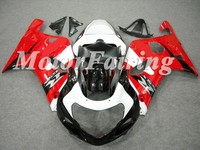 Complete Red white Black Fairing for GSXR600 750 00 01 02 03 GSXR600 GSXR750 GSX-R600 GSX-R750 K1 injection Fairing