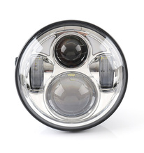 40W / 30W 5.75'' LED Motorcycle Headlight Headlamps High/Low Projector Daymaker For Harley Davidson 5-3/4 inch