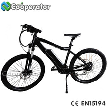 "Chinese factory OEM 2017 new EN15194 26"" 250W electric mountain bike/e bike electrical bicycle"