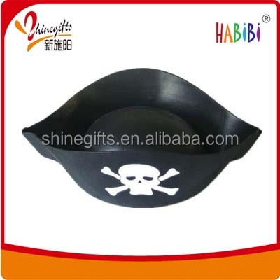 Safety party eva foam pirate hat for kids