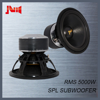 Competition car subwoofer for JLD audio with 4pcs magnet big bass subwoofer 5000w spl car subwoofer