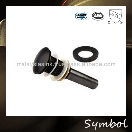 pop-up Copper Solid brass ORB sink drain overflow