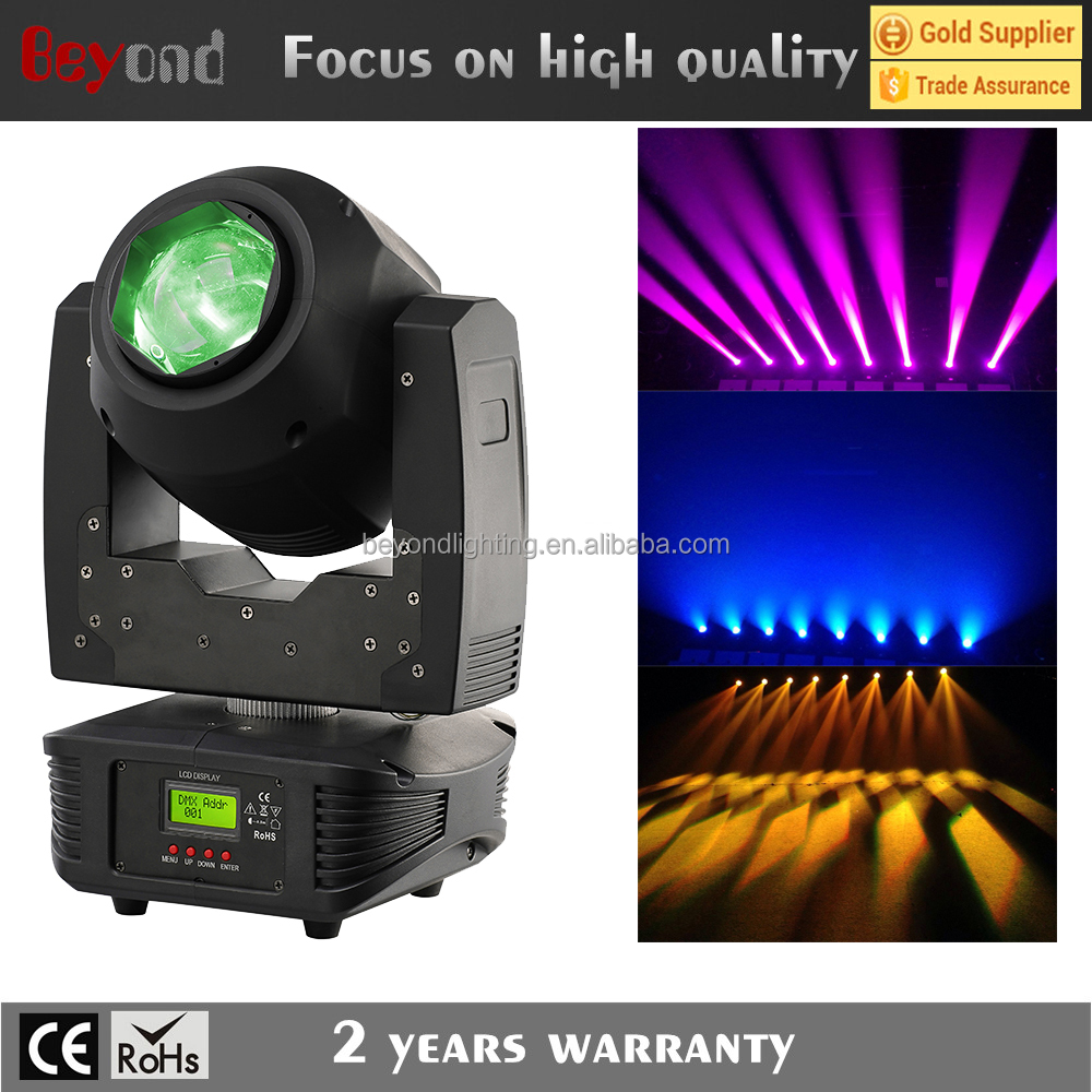 min hot sale led 60w zoom wash moving head with prism for Dj effect