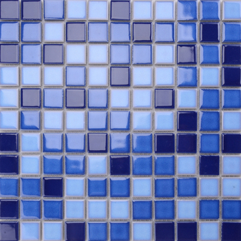 MD018T wholesale glass mosaic for swimming pool project tile price