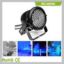 IP67 54*3w C ree RGBW outdoor par led rgbw viky