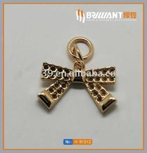 Fashion custom design shape zipper puller