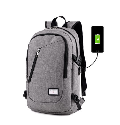 Latest Model Business USB Charging Laptop Backpack Men Fashion Multi-function Travel Bag
