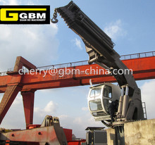 GBM 4T@ 30M offshore knuckle boom hydraulic telescopic crane price
